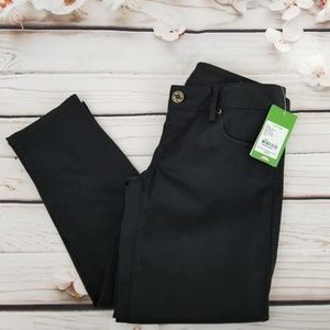 Lilly Pulitzer worth skinny black jeans in onyx
